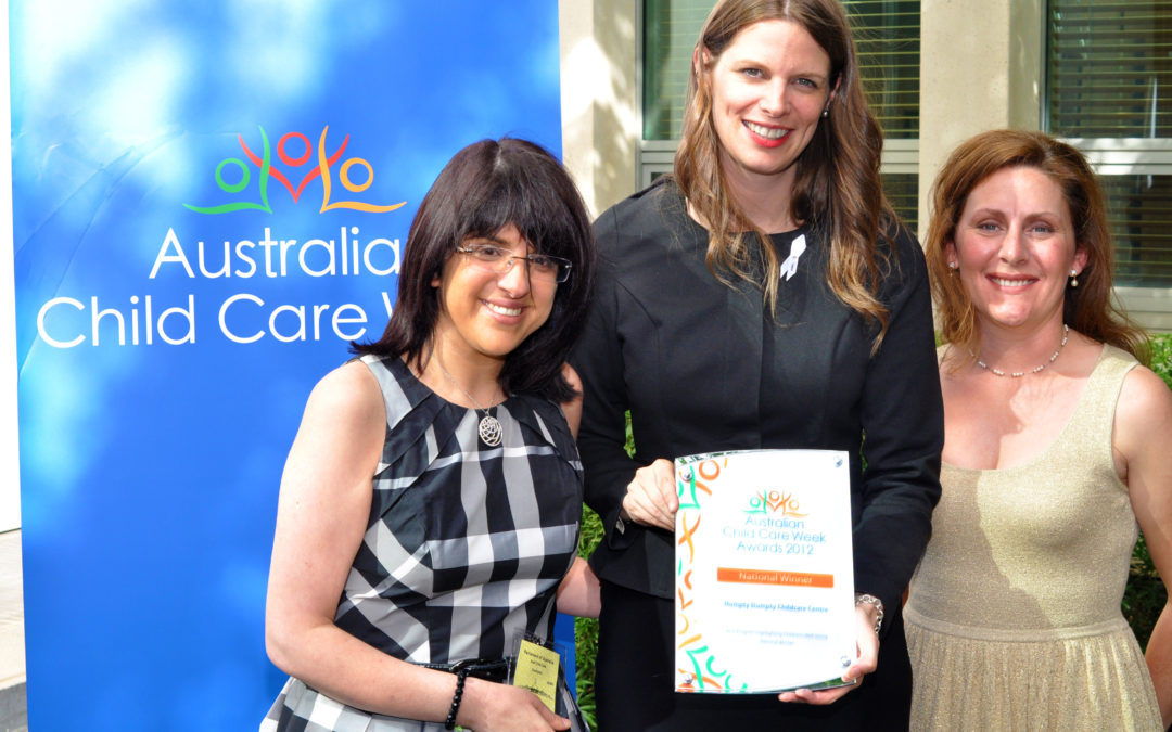 Acacia Hill @ Childcare Week Awards 2012