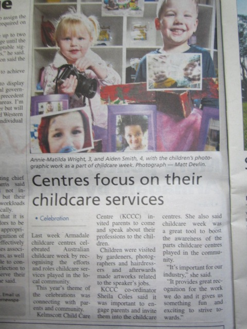 Kelmscott Child Care in the community